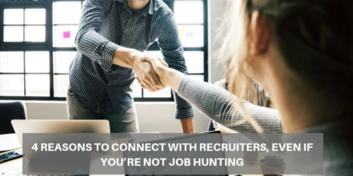 4 Recruiters to connect with recruiters