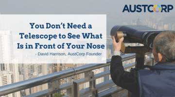 You Don't Need A Telescope To See What Is In Front Of Your Nose